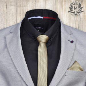 Falcon's aranysárga nyakkendő