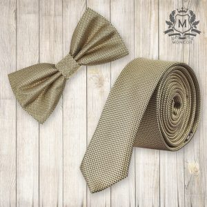 Falcon's aranysárga nyakkendő szett
