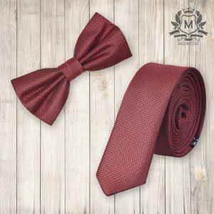 Falcon's meggypiros nyakkendő szett